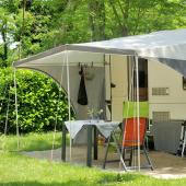 Vorzelt Camping imprägnieren